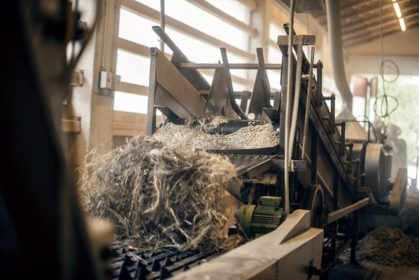hemp fibre processing